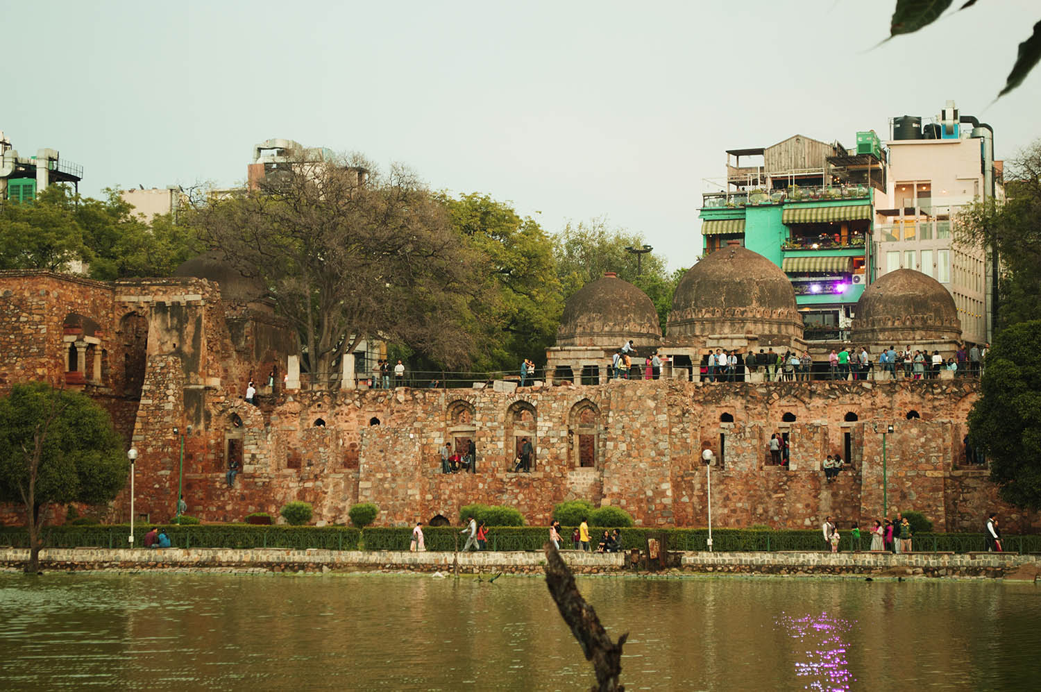hauz-khas-fort-view-from-the-lake-side