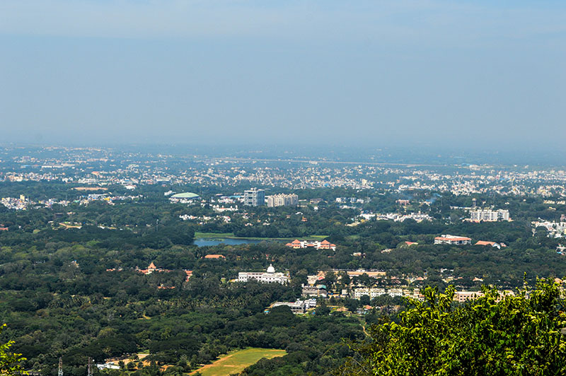 mysore-city-aerial-view